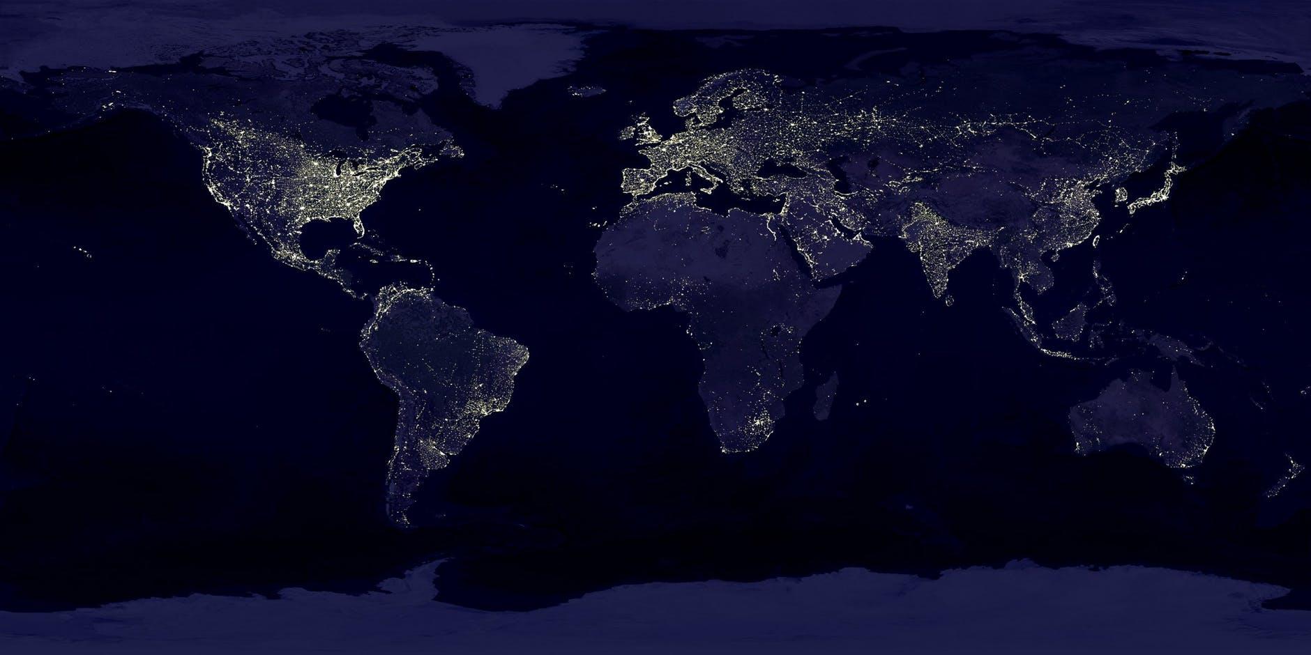 Earth Hour - den internationella kampanjen